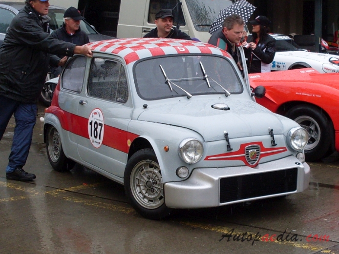 Fiat Abarth 1000 TCR 1968-1970 (1968), right front view