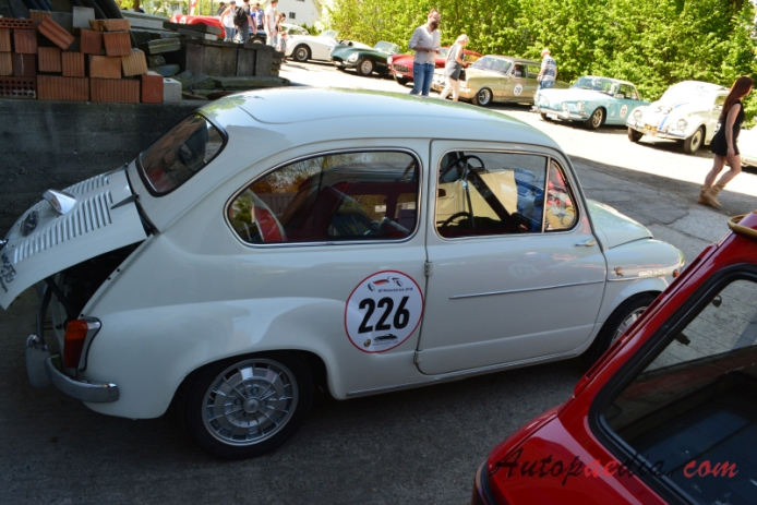 Fiat Abarth 850 TC 1960-1967 (1962 850 TC Nürburgring), right side view