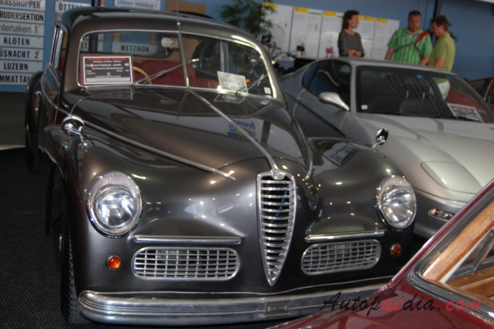 Alfa Romeo 6C 2500 1938-1952 (1951 SS Berlina GT 2d), front view