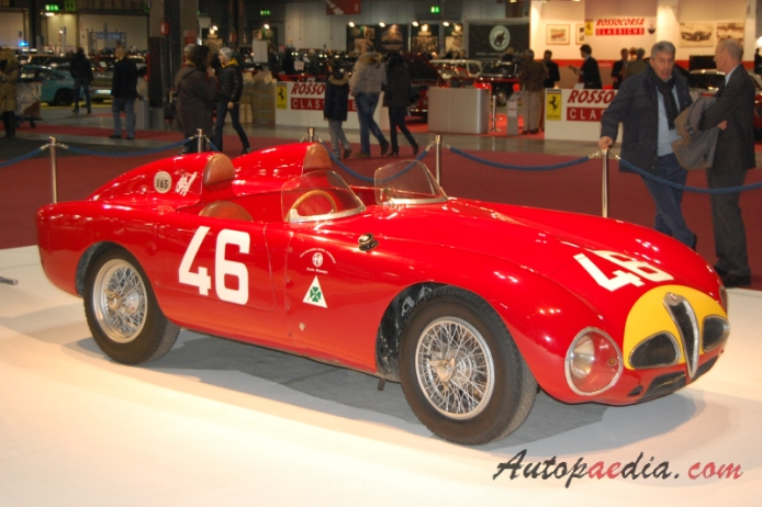 Alfa Romeo 6C 3000 1950-1954 (1953 3000CM roadster 2d), right front view