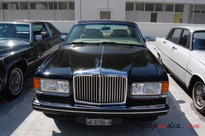 bentley mulsanne 1980-1992