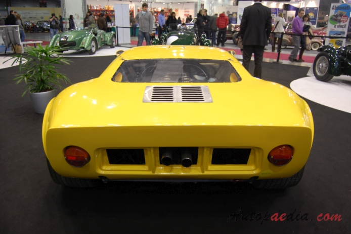 Ford GT40 1965-1968 (1984 GT 40 P Sbarro replica), rear view