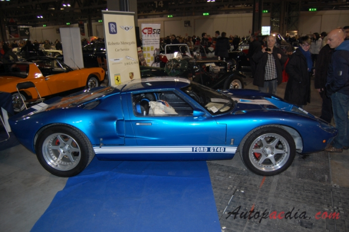 Ford GT40 1965-1968 (replica), right side view