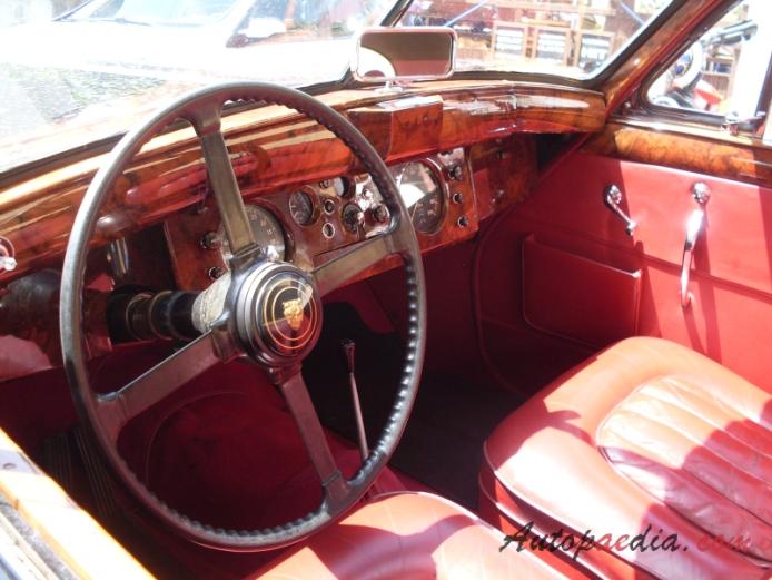 Jaguar Mark VII M 1954 1956 Interior Autopaedia