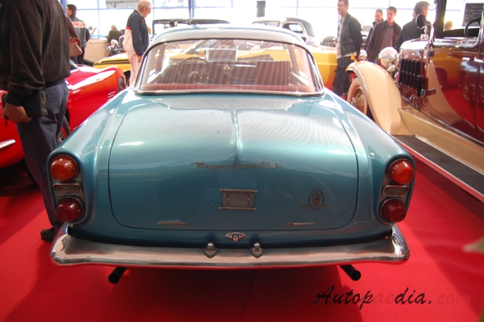 Maserati 3500 GT 1957-1964 (1961-1964 GTI Coupé 2d), rear view