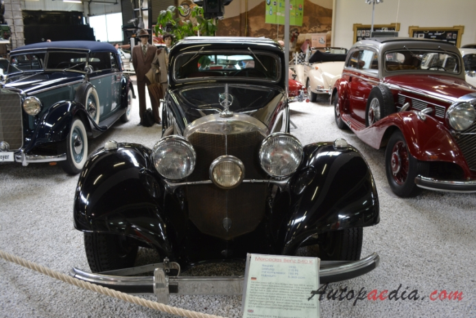 Mercedes-Benz W29 540 K 1936-1939 (1936 Coupé 2d), przód