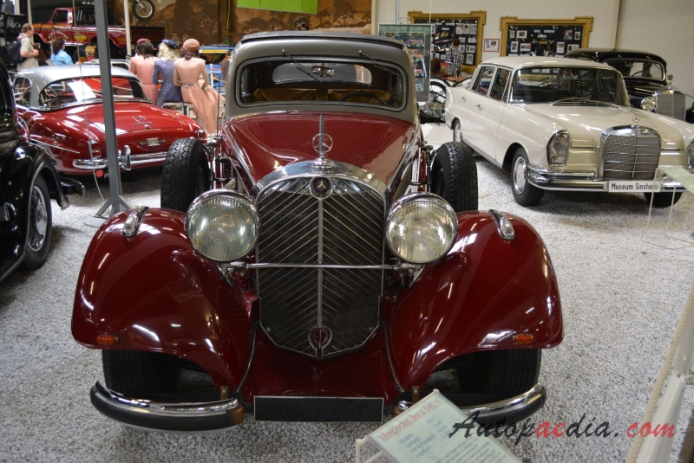 Mercedes-Benz W29 540 K 1936-1939 (1937 Coupé 2d), przód