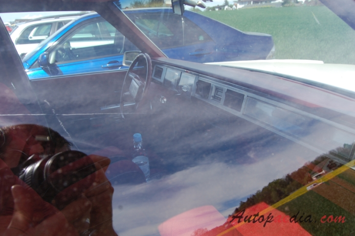 Mercury Marquis 3rd generation 1979-1982 (1979-1981 Grand Marquis sedan 4d), interior