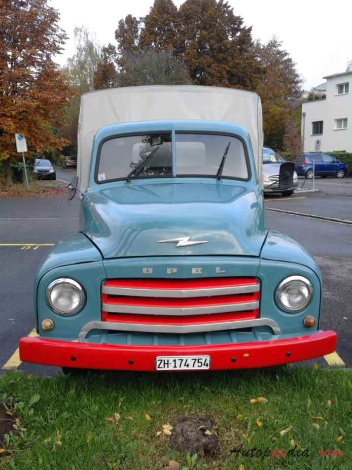 Opel Blitz 2nd generation 1952-1960 (truck), front view