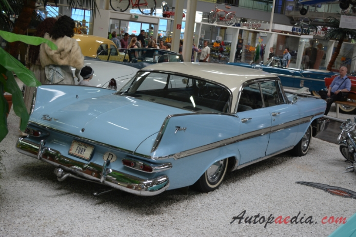 Plymouth Fury 1st generation 1959 (sedan 4d), right rear view