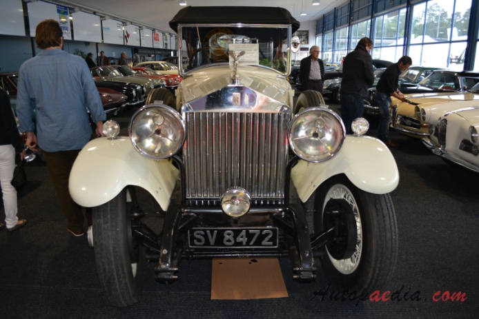 Rolls-Royce Phantom I 1925-1931 (1925 Sports Tourer 4d), przód