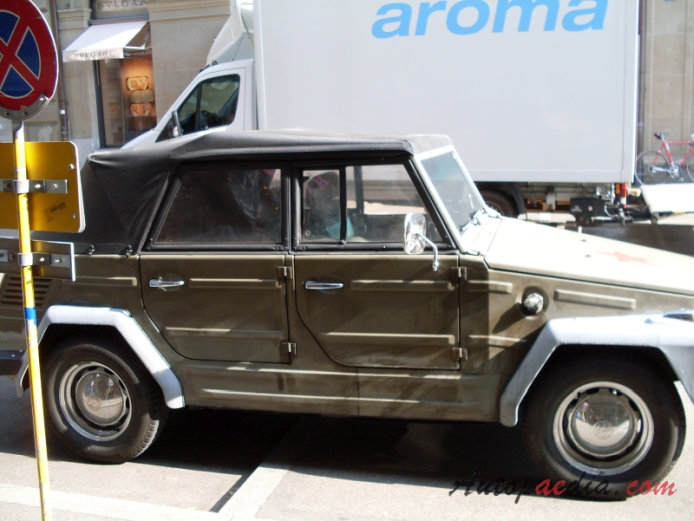 VW type 181 1969-1983 (military vehicle), right side view